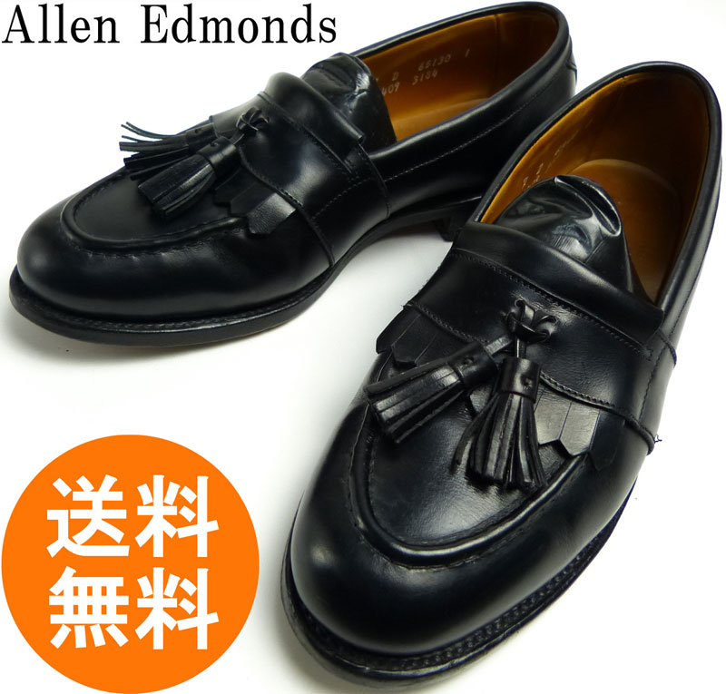 【希少】アレンエドモンズ Allen Edmonds Newport USA製 タッセルローファー 7 D(25cm相当)( メンズ )【中古】【送料無料】