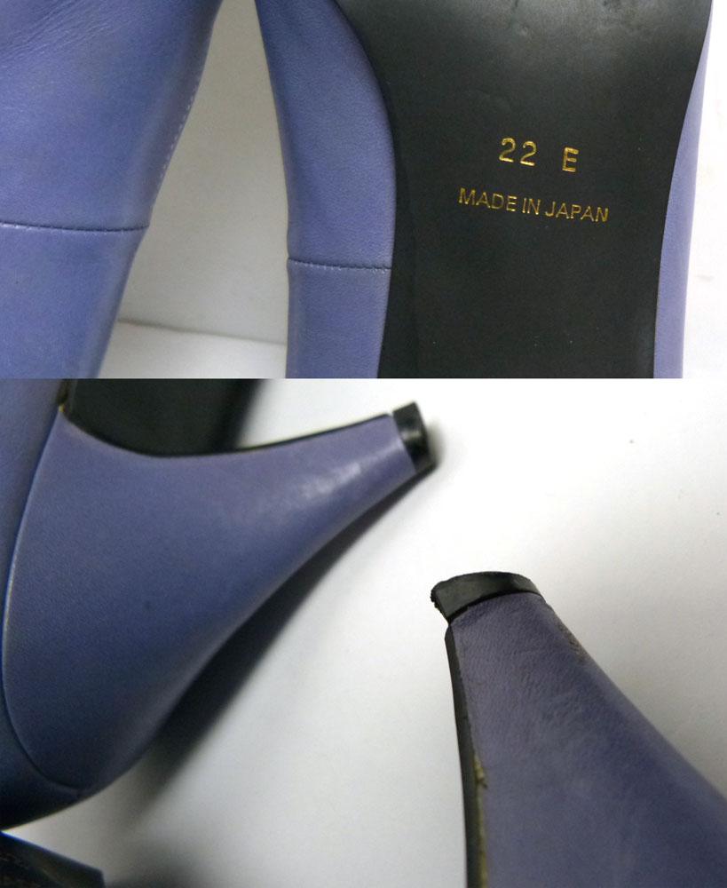 Polo Ralph Lauren ポロ ラルフローレン レザー パンプス 22E(22cm相当)(レディース)【中古】
