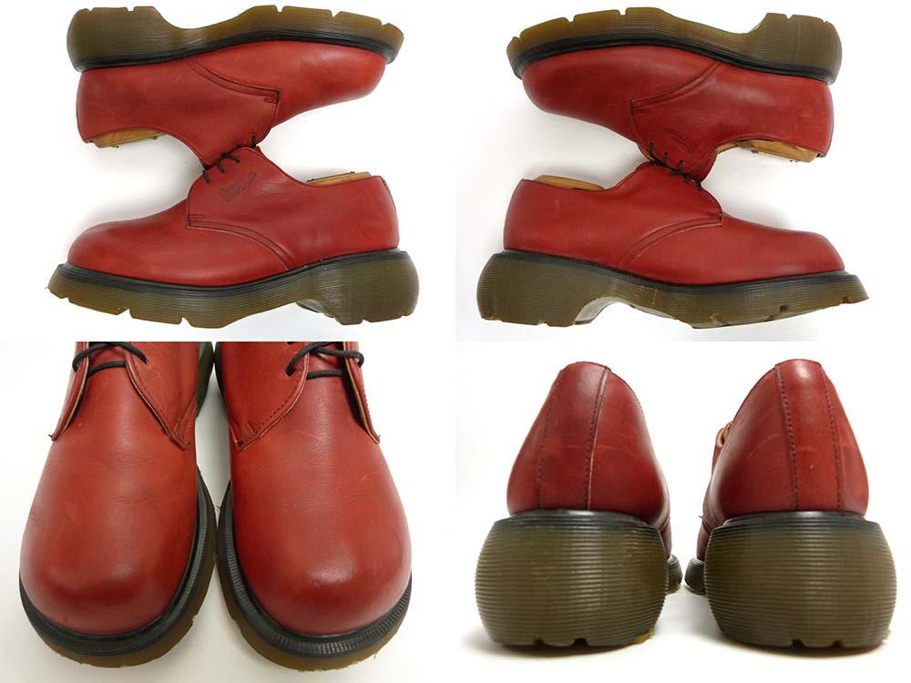 英国製 ドクターマーチン Dr.Martens 3ホールシューズ UK7(25.5cm相当)(メンズ)【中古】【送料無料】