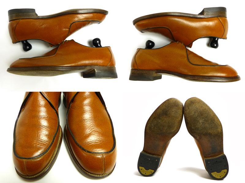 1960-70年代 Macfarlane Lefaivre ビンテージ Uチップレザーシューズ (25.5-26cm相当)(メンズ)【中古】【送料無料】