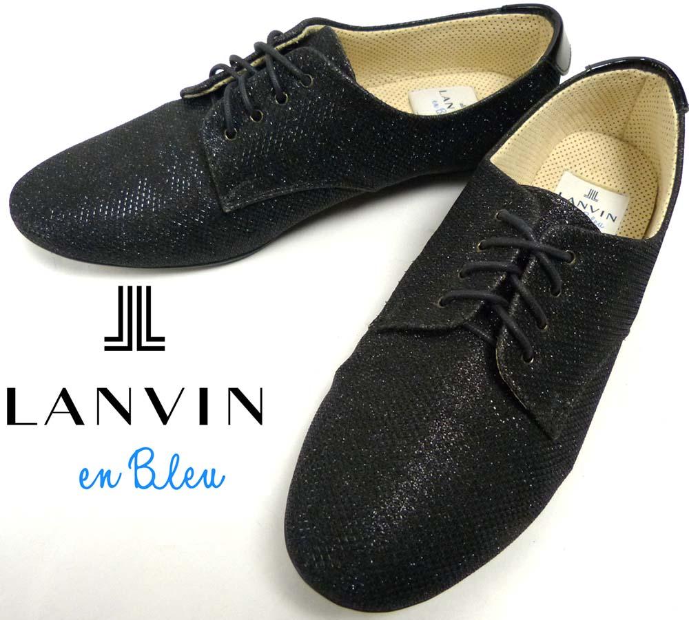 ランバン LANVIN en Bleuラメシューズ / スニーカー 23(23cm相当)(レディース)【中古】