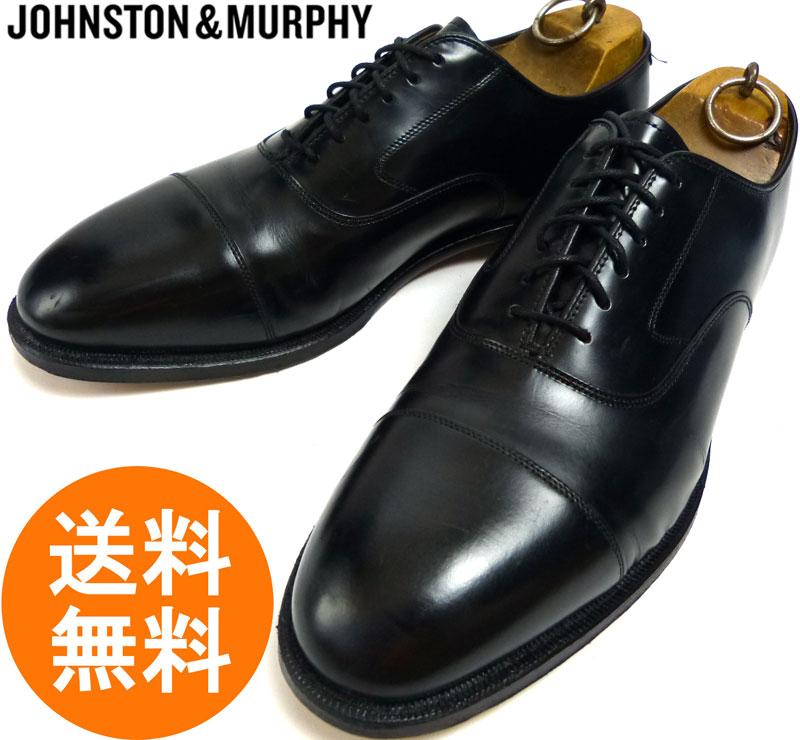 ジョンストン&マーフィー JOHNSTON & MURPHY ストレートチップシューズ 9 1/2 D/B(27〜27.5cm相当) ( メンズ )【中古】
