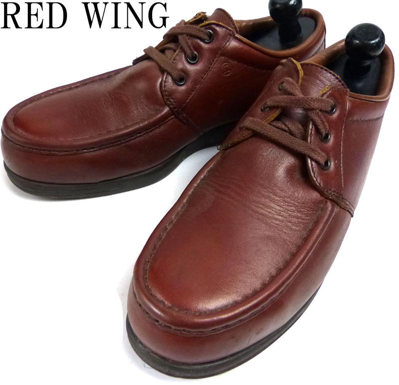 USA製 レッドウィング REDWING 6602 オックスフォード / セーフティシューズ US9D(27cm相当)(メンズ)(紳士靴)【中古】