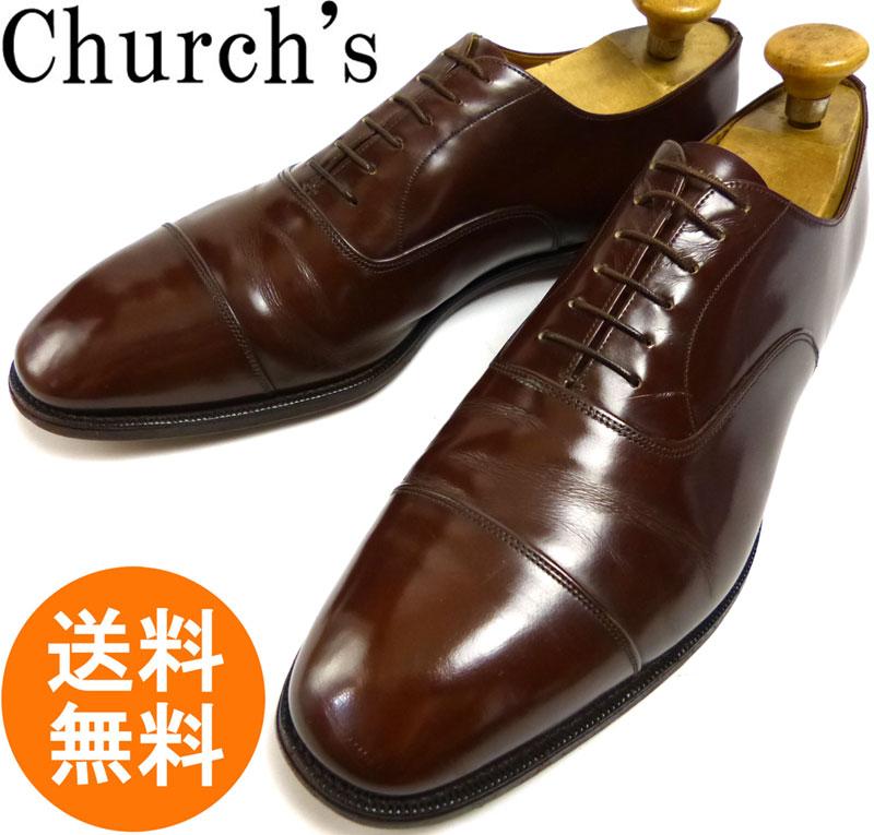 【希少】旧チャーチ Church's ストレートチップシューズ  UK11D(29.5cm相当)(メンズ)【中古】【送料無料】