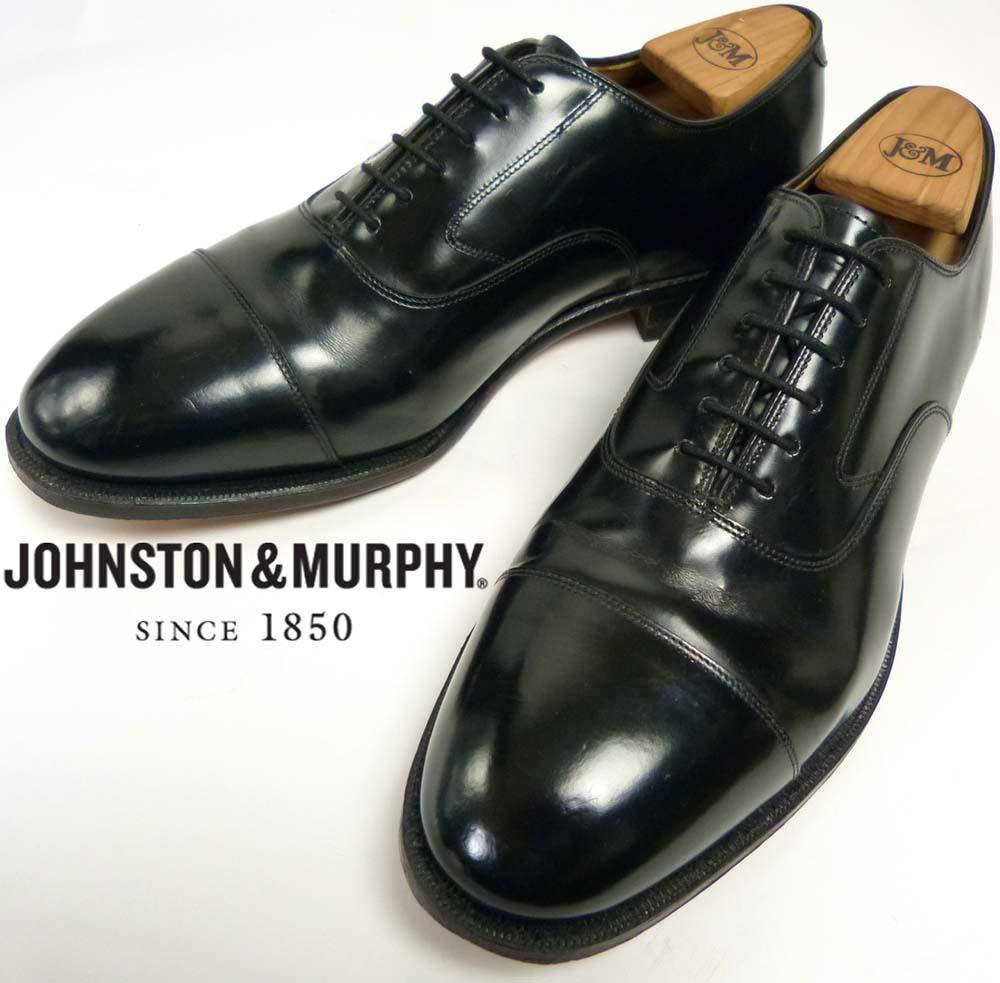 ジョンストン&マーフィー Johnston & Murphy キャップトウシューズ US 8 1/2 EEE/E(26.5-27cm相当)(メンズ)【中古】
