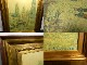 カミーユ・ピサロ / Camille Pissarro ROUEN RUE DE L'EPICERIE 立体複製画 額装 12号/F12【中古】