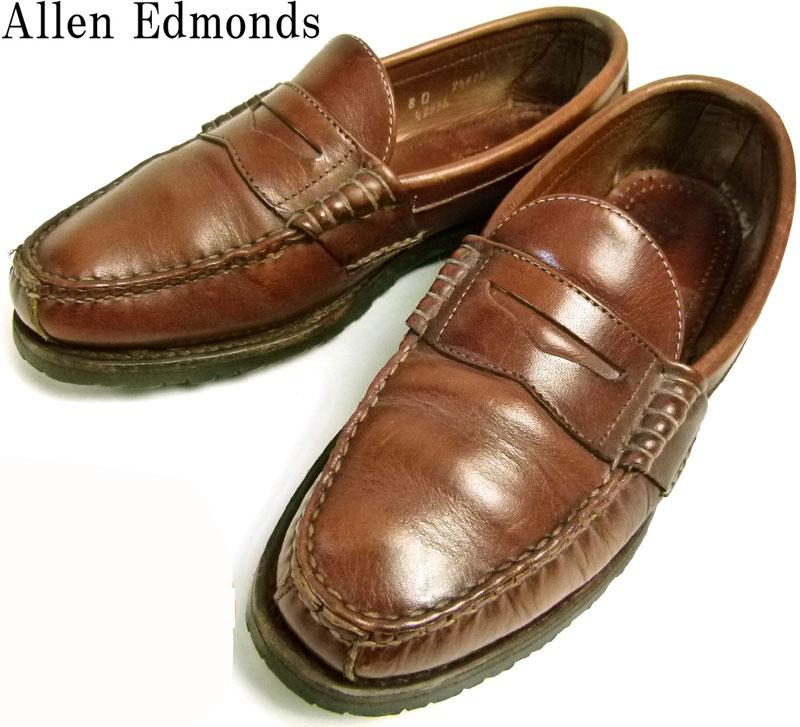 アレンエドモンズ Allen Edmonds Rockland コイン(ペニー)ローファー 8 D(26cm相当)【中古】