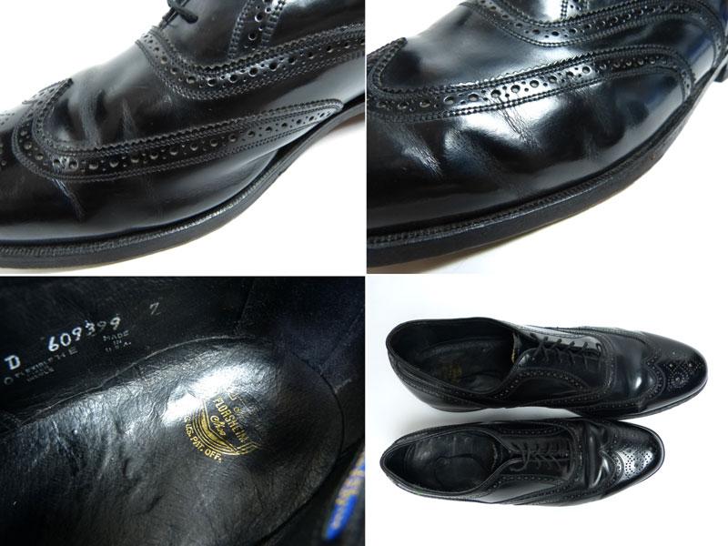 【ビッグサイズ】フローシャイム FLORSHEIM ウィングチップシューズ 16D(34cm相当)( メンズ )(紳士靴)【中古】【送料無料】