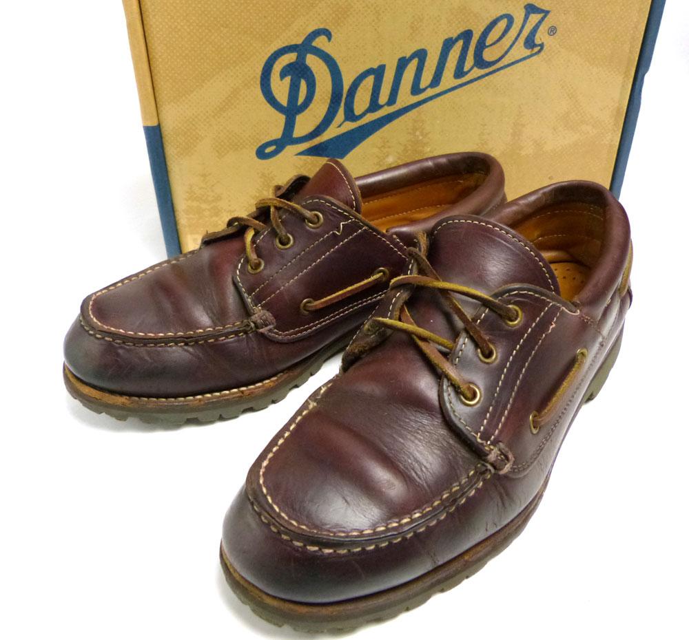 Danner/ ダナー D6900 デッキシューズ US8(26cm相当)(メンズ)箱付き【中古】