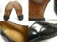 USA製ジョンストン&マーフィー Johnston & Murphy OPTIMA キャップトウシューズ 8 1/2 D/B(25.5-26cm相当)(メンズ)【中古】【送料無料】