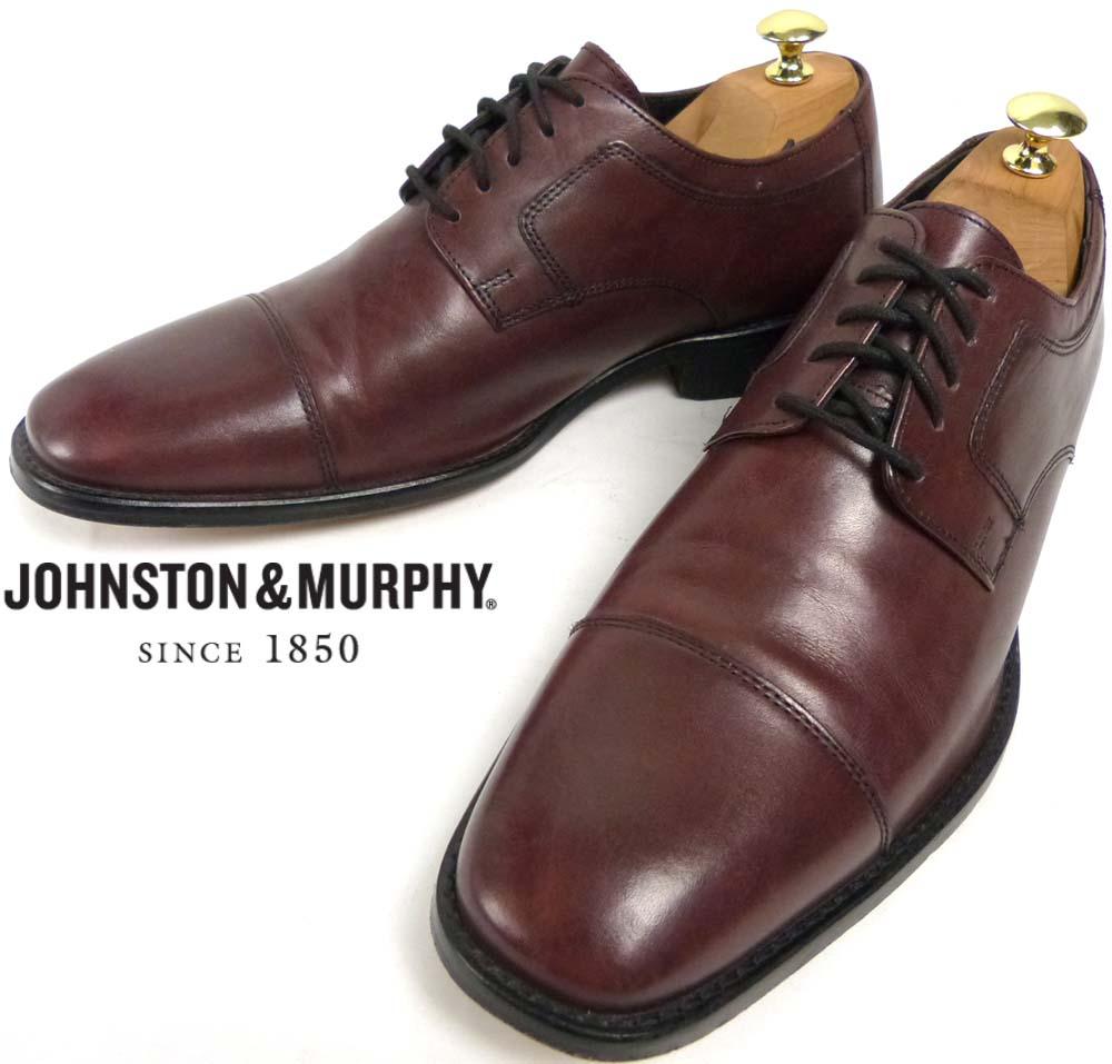 J.MURPHY ジョンストン&マーフィー Johnston&Murphy ストレートチップシューズ 9 1/2M(27.5cm相当)(メンズ)【中古】