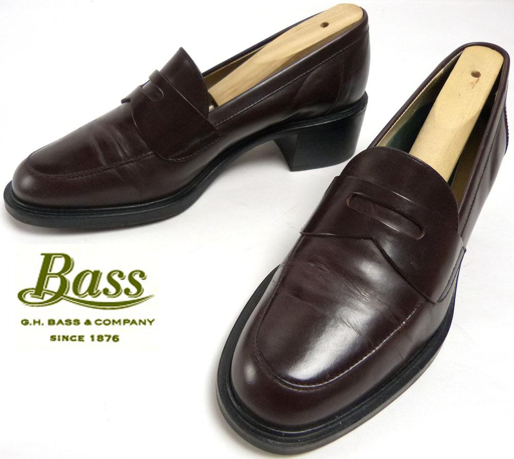 ジーエイチ バス G.H.Bass コイン(ペニー)ローファー 7 1/2M(24-24.5cm相当)( レディース )【中古】