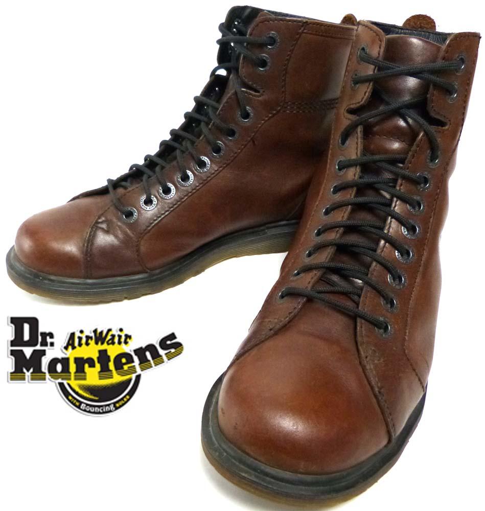 ドクターマーチン Dr.Martens 英国製 10ホールブーツ UK7(25.5cm相当)(メンズ)【中古】【送料無料】