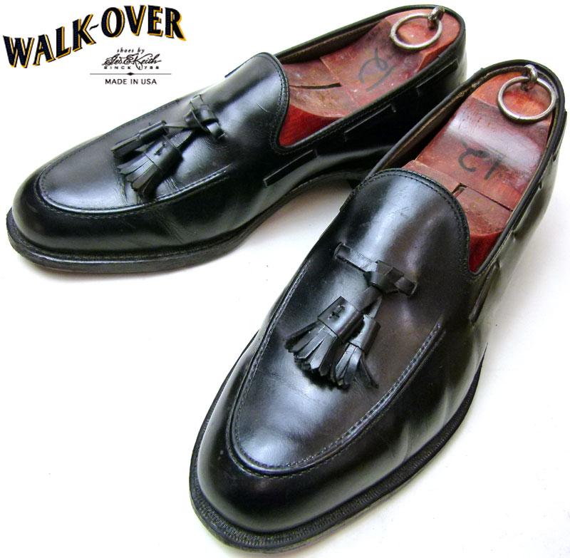 ウォークオーバー WALK-OVER レザータッセルローファー  8 1/2E/EEE(27cm相当) ( メンズ )【中古】