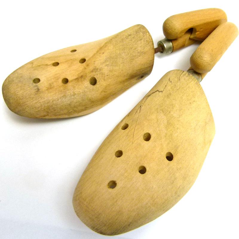 フランス製 木製ビンテージ シューキーパー シューツリー 43(27.5〜28cm相当 )( メンズ )【中古】
