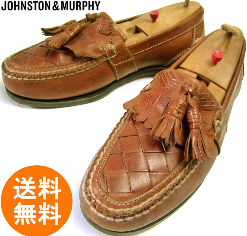 ジョンストン&マーフィー JOHNSTON&MURPHY キルトタッセル ローファー 8D(26cm相当) ( メンズ )【中古】