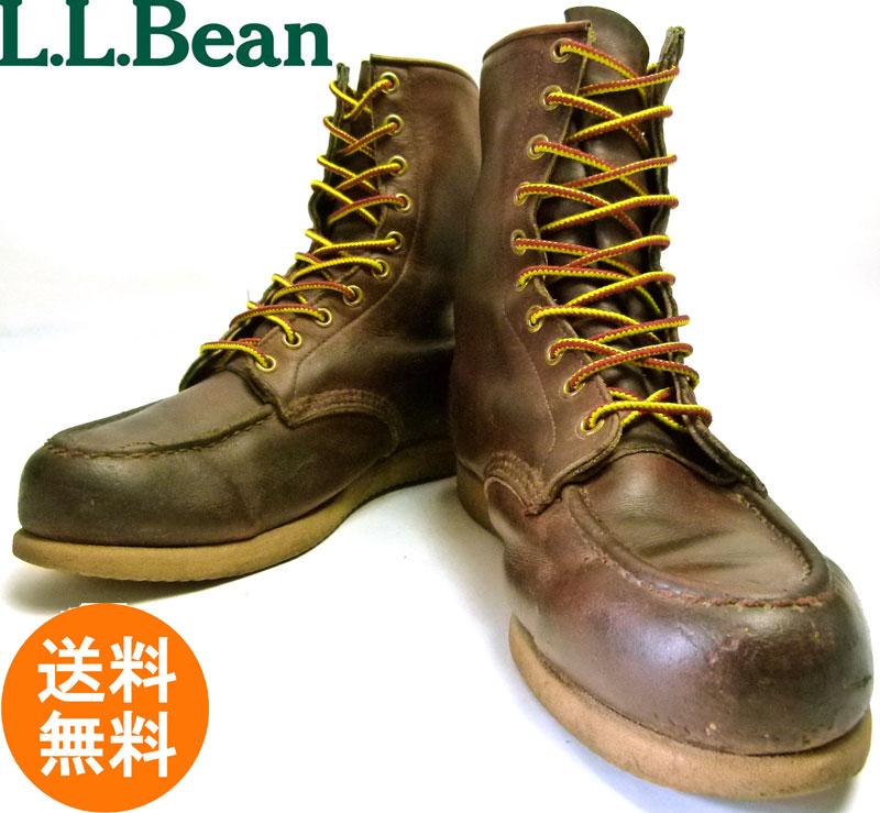 エルエルビーン L.L.Bean モックトゥブーツ 9 1/2D(27.5cm相当)( メンズ )【中古】【送料無料】