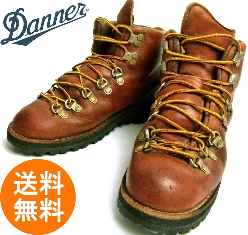 ダナー DANNER 3052マウンテンライト  本革トレッキングブーツ 7 1/2M(25cm相当)( メンズ )【中古】【送料無料】