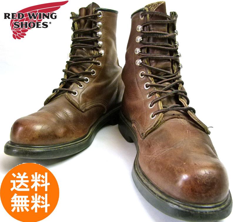 REDWING レッドウィング 953 USA製編み上げワークブーツ 8 1/2D(26.5cm相当)( メンズ )【中古】【送料無料】