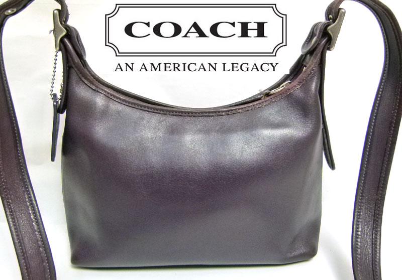 オールドコーチ OLD COACH ショルダーバッグ(紫)【中古】【送料無料】