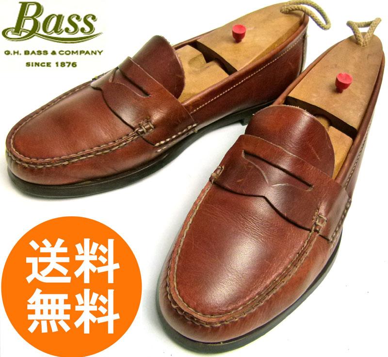 バス G.H.Bass バス ペニー(コイン)ローファー   9D(27cm相当)【中古】【送料無料】