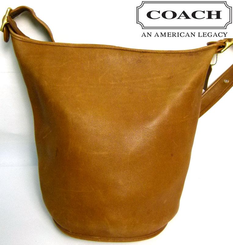 オールドコーチ OLD COACH たる型ショルダーバッグ (茶)【中古】【送料無料】