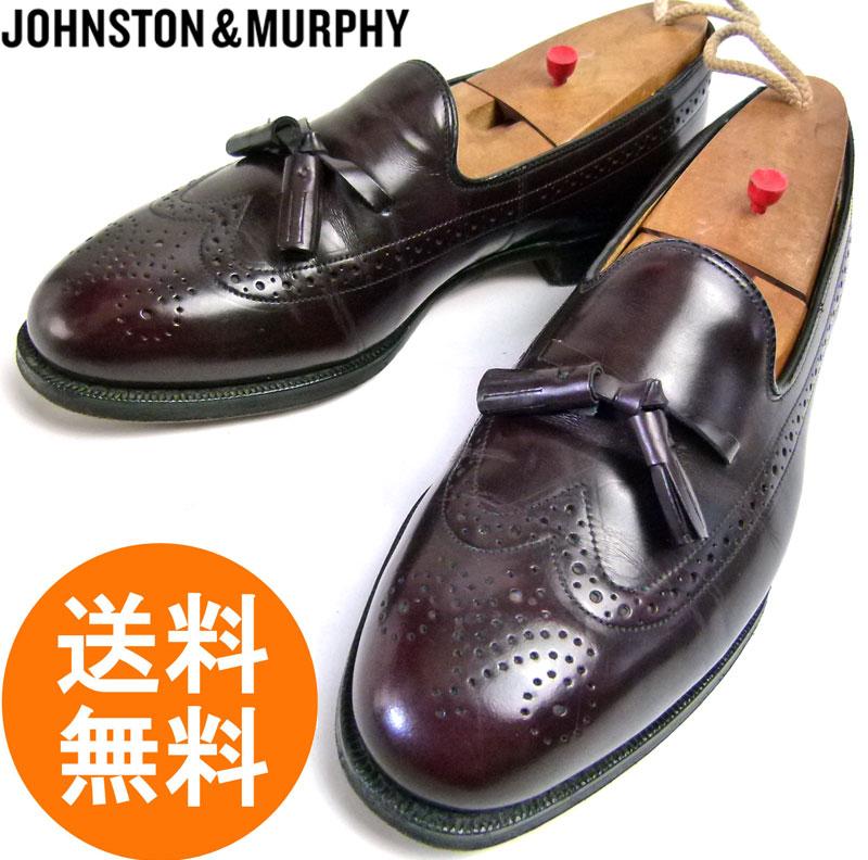 ジョンストン&マーフィー JOHNSTON & MURPHY タッセルローファー 8D/B(25.5cm相当) 【中古】