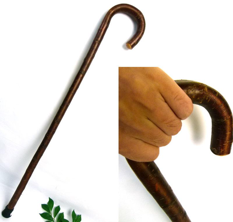 アンティーク 自然木 古い一本杖 / つえ / ステッキ /天然素材 / レトロ【中古】