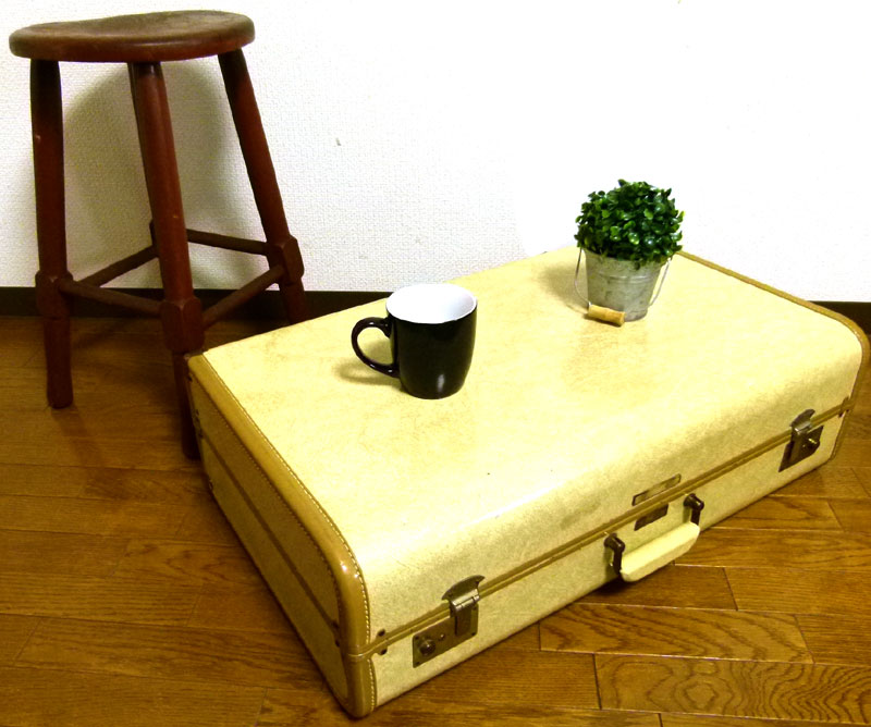 1960s タウンクラフト TOWNCRAFT/PENNEY'S スーツケース トランク【中古】【送料無料】