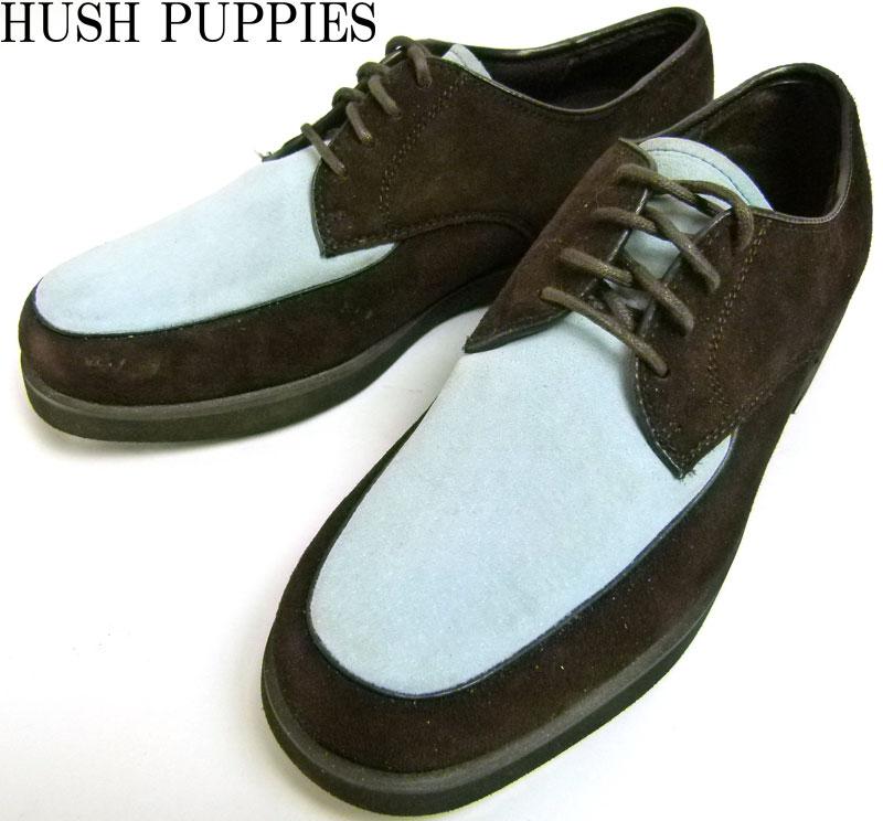 ハッシュパピー Hush Puppies 2トーンスエードシューズ 7.5(24cm相当)( レディース )【中古】【送料無料】