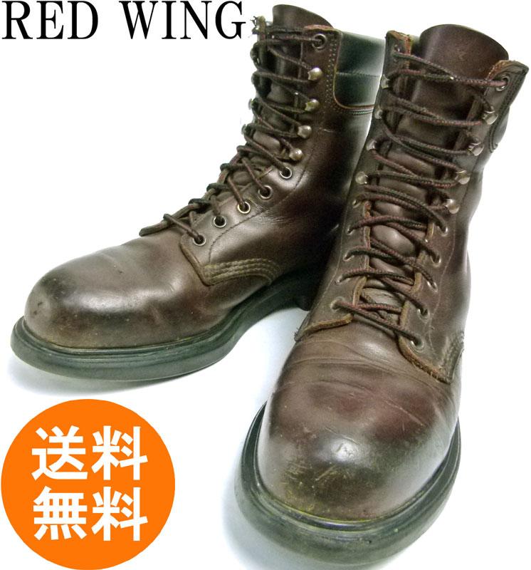 1990s REDWING レッドウィング 2204 USA製編み上げワークブーツ 8D(26cm相当)( メンズ )【中古】【送料無料】