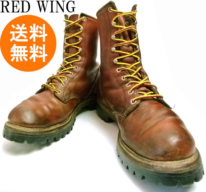 70s レッドウィング RED WING アイリッシュセッター ワークブーツ US8(26cm相当) ( メンズ )(犬タグ)【中古】【送料無料】