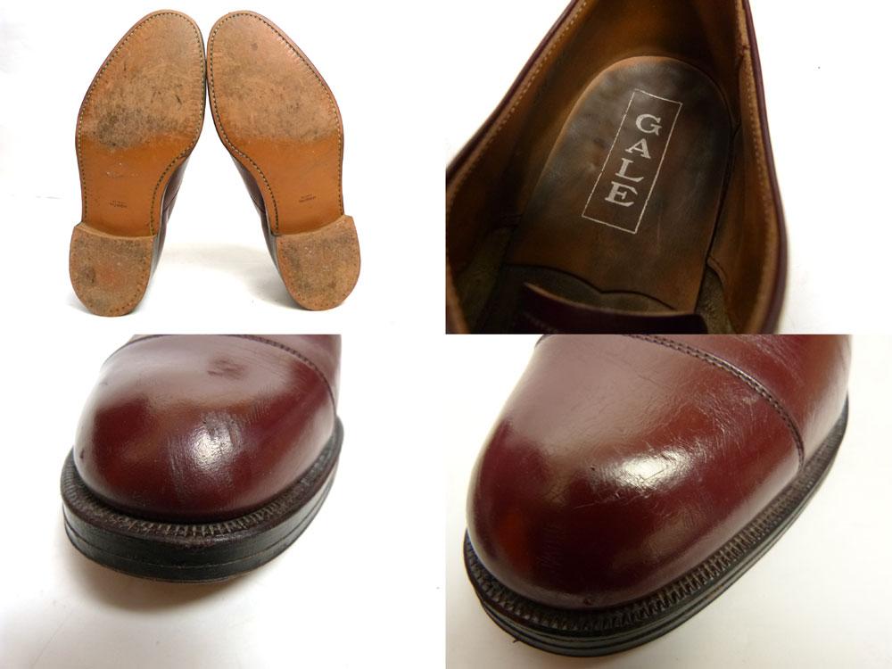 GALE ストレートチップ レザーシューズ 8H (26.5cm相当)(メンズ)(紳士靴)【中古】