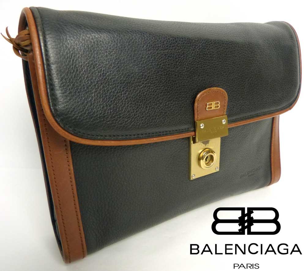 BALENCIAGA バレンシアガ ACE社製 クラッチバッグ / セカンドバッグ(鍵付き)【中古】