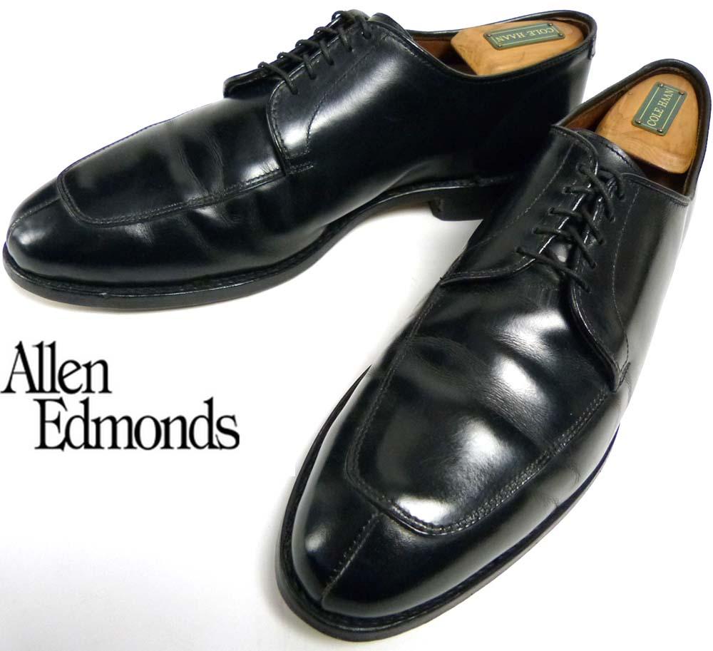 USA製アレンエドモンズ Allen Edmonds Delray Uチップシューズ US 9D(26.5cm相当)(メンズ)【中古】【送料無料】
