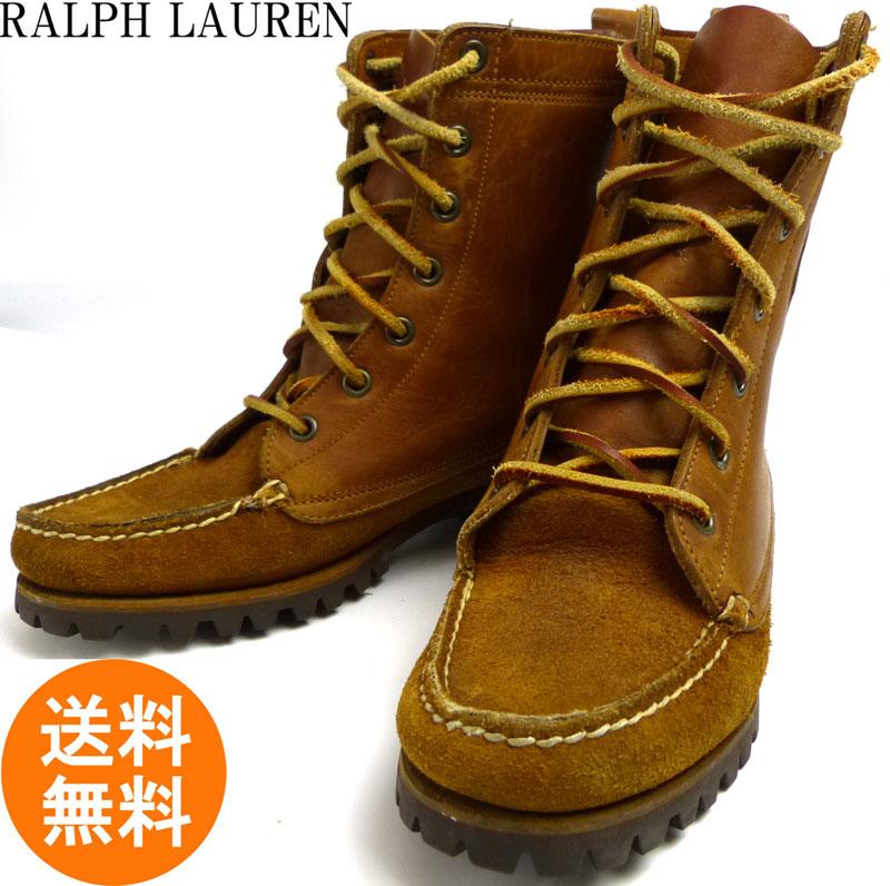 ラルフローレン Ralph Lauren COUNTORY カントリー モカシンブーツ 7(23.5〜24cm相当)(メンズ・レディース)【中古】