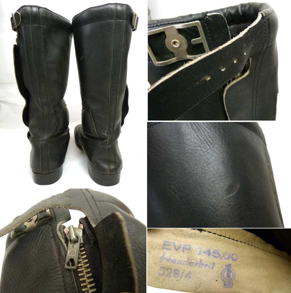 GERMINA DIPPOLD製 ビンテージ ツーリングブーツ / バイクブーツ 表記無し(27.5cm相当)(メンズ)【中古】