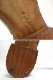 1940s〜 Angela Donmelli スペードソール パンチドキャップトゥシューズ 10D/EE(27.5-28cm相当)(メンズ)【中古】【送料無料】