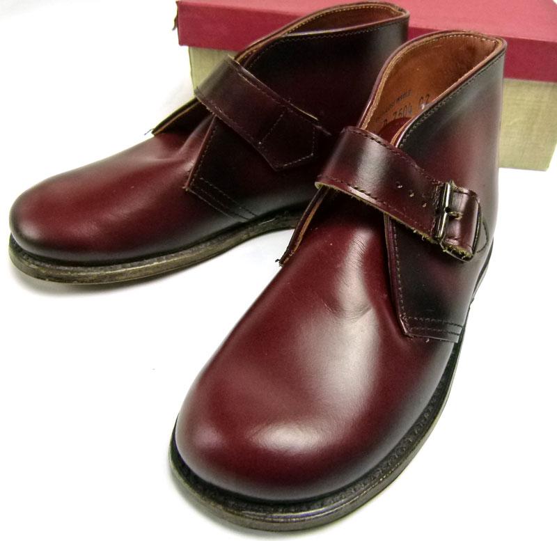 キッズ用1960s  The  Tru Fit shoe チャッカブーツ Size 9 D(箱付デッドストック)【中古】