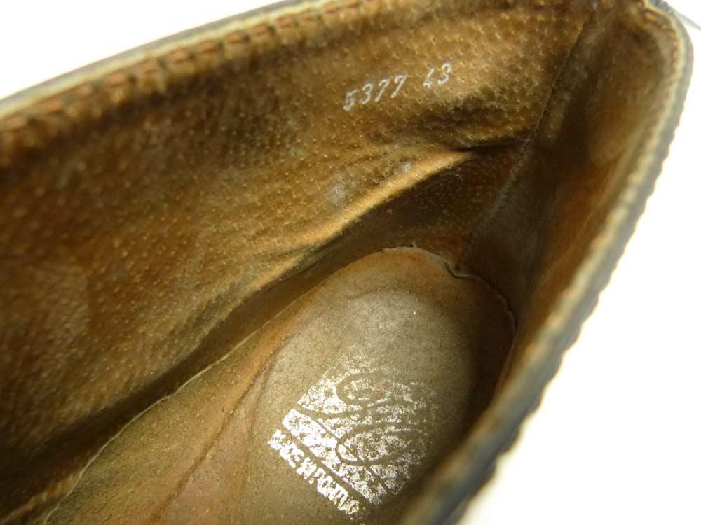ポルトガル製 レザーチャッカブーツ 43(27.5-28cm相当)(メンズ)【中古】