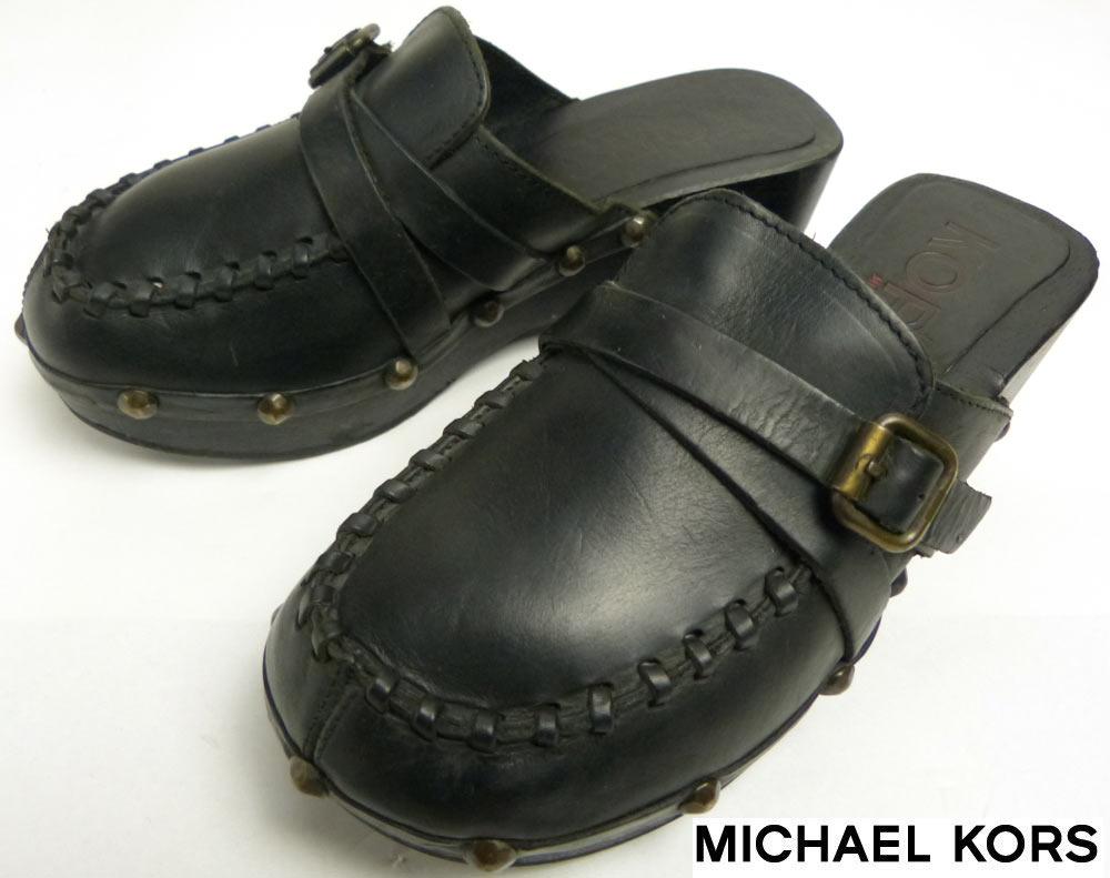 イタリア製マイケルコース MICHAEL KORS サボサンダル 7 (23〜23.5cm相当)(レディース)【中古】