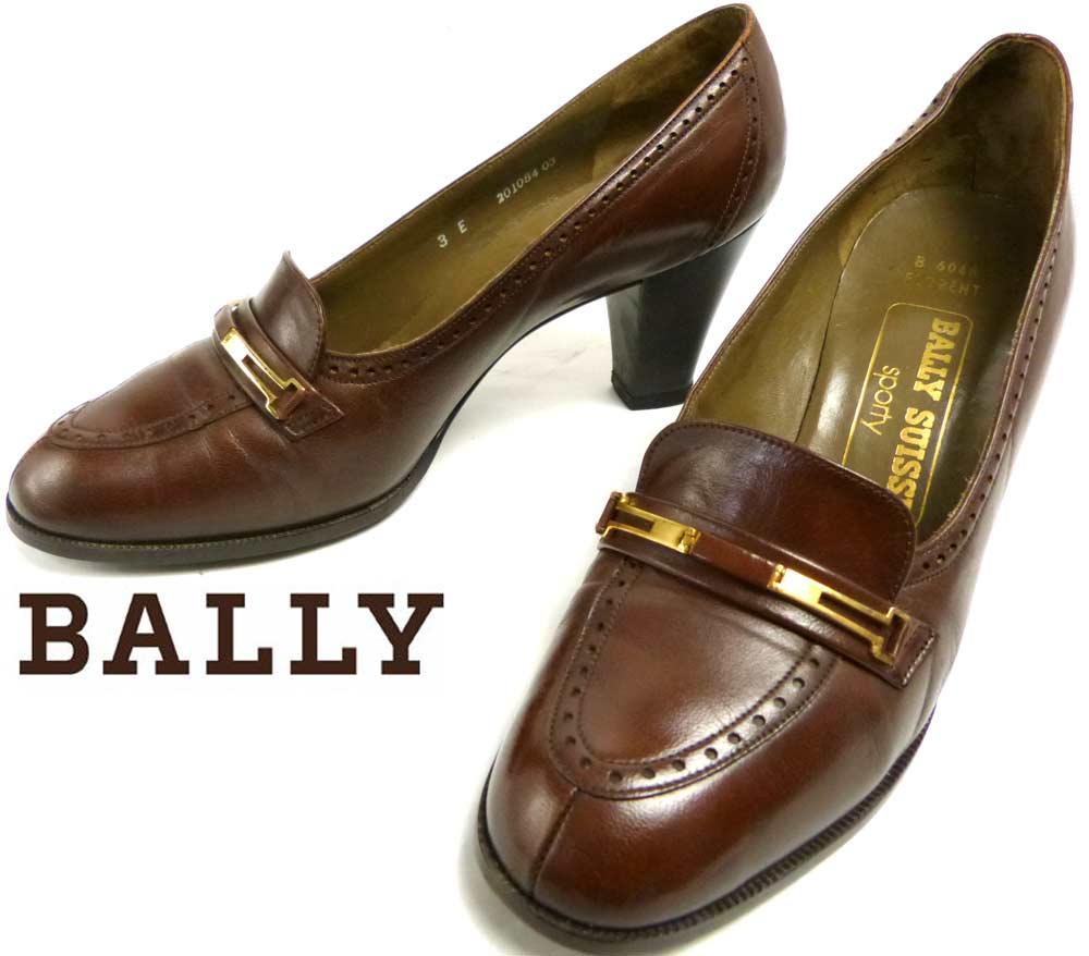 バリー BALLY SUISSE sporty レザー パンプス / ヒール  3E(22cm相当)(レディース)【中古】
