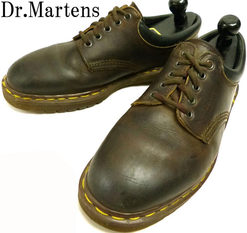 ドクターマーチン Dr.Martens イングランド(英国)製 5ホール シューズ UK9(27.5cm相当)( メンズ )【中古】