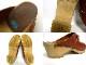 スウェーデン製 ビット サボ サンダル 39(24.5cm相当)(北欧ブランド) (レディース)【中古】