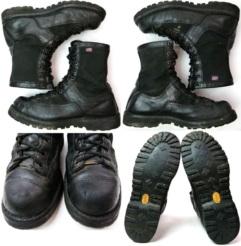 【Danner /ダナー】USA製200G GTX編上げブーツ 9 1/2D(27cm相当)( メンズ )(黒)【中古】