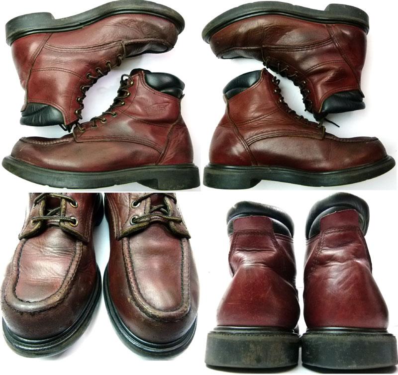 【RED WING/レッドウィング】 USA製202ワークブーツ 9 1/2 E2 (27.5cm相当)( メンズ )【中古】【送料無料】