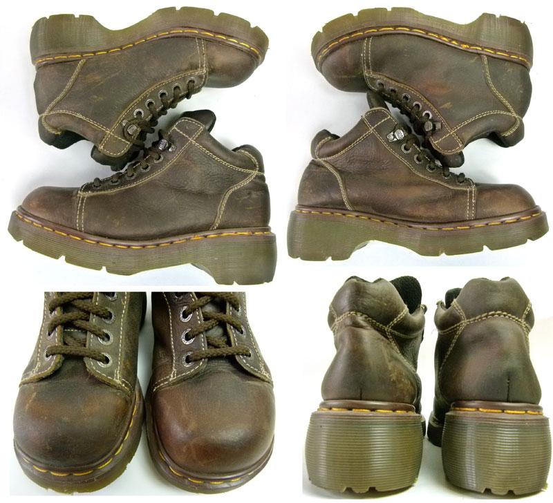 イングランド(英国)製 ドクターマーチン Dr.Martens 6ホール ブーツ UK6(24.5cm相当)( レディース )【中古】
