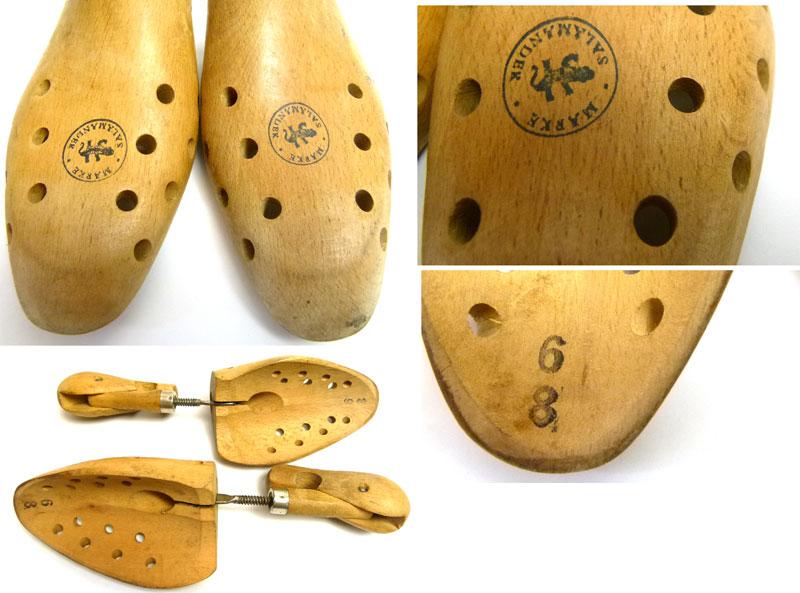 フランス製 SALMANDER木製ビンテージ シューキーパー シューツリー 8(26〜27cm相当 )( メンズ )【中古】