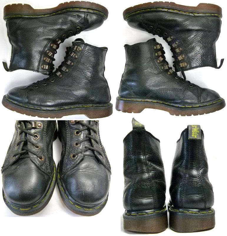 イングランド(英国)製 ドクターマーチン Dr.Martens 8ホール ブーツ UK6(24.5cm相当)( レディース )【中古】