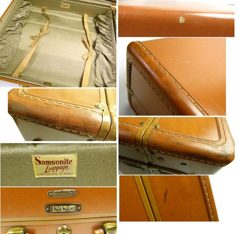 アンティーク 50s ビンテージ オールド サムソナイト samsonite スーツケース トランク【中古】【送料無料】